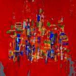 Acryl auf Leinwand, 105 x 130 cm