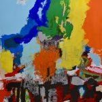 Acryl auf Leinwand, 90 x 110 cm